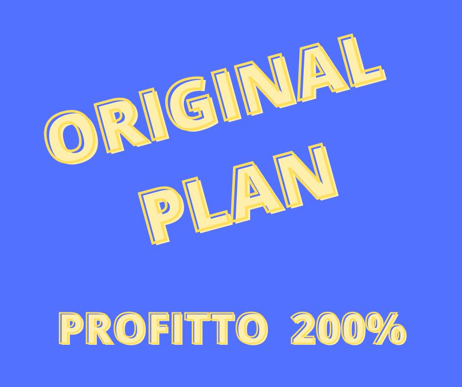 ORIGINAL PLAN